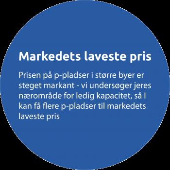 Til virksomheder - cirkel til markedets laveste pris